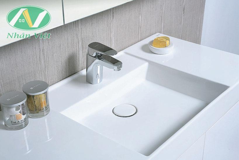 Chậu rửa lavabo đặt bàn được thiết kế sang trọng, đẳng cấp