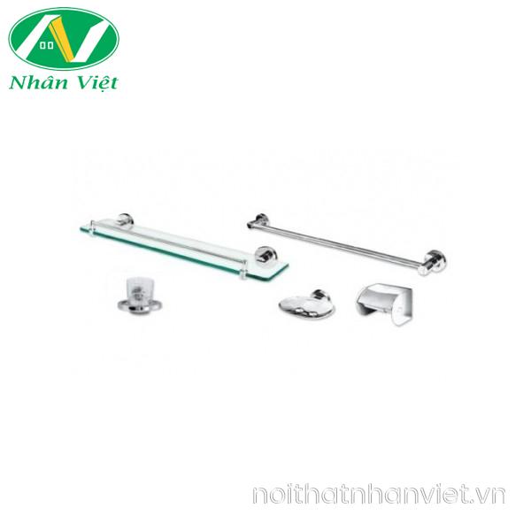Bộ phụ kiện phòng tắm Viglacera VG92 (VGPK02) 5 món inox