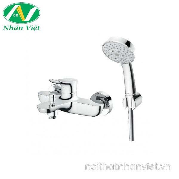 Bộ sen tắm TOTO TBG01302V/TBW03002B nóng lạnh bát sen 5 chế độ