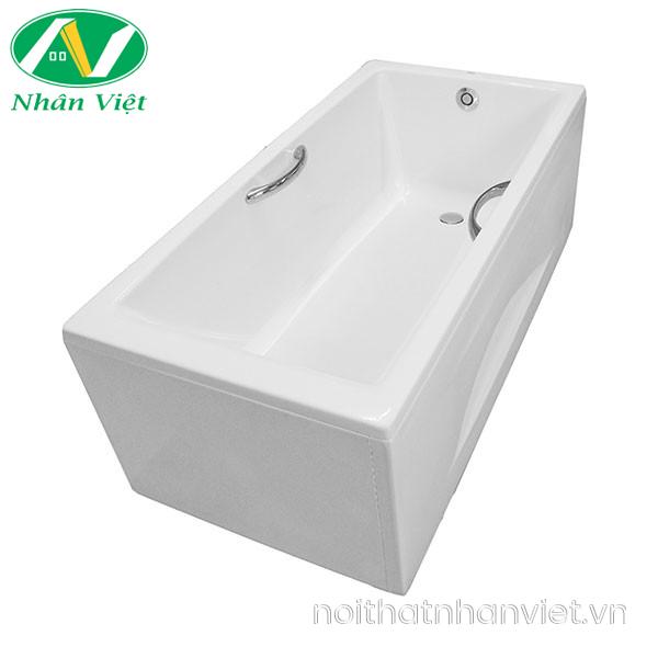 bồn tắm TOTO PAY1525HVC/TVBF411 chân yếm 1.5m có tay vịn