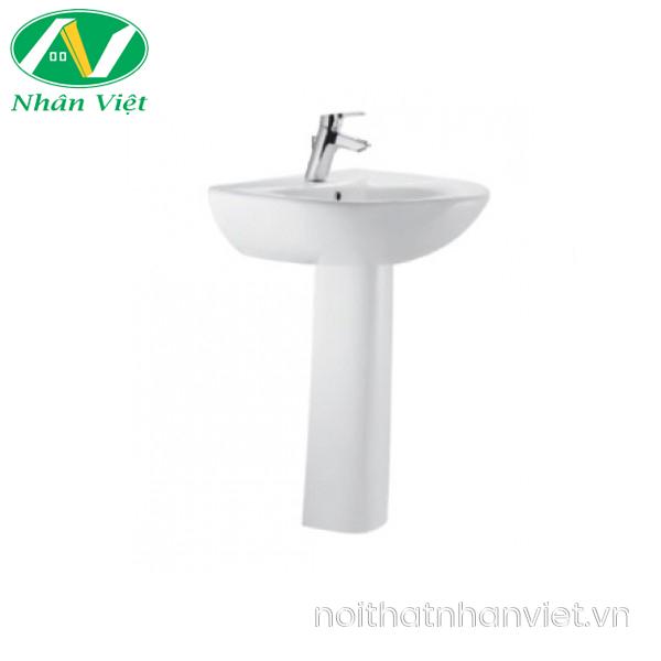 Chậu lavabo/chân chậu American 0956-WT/0775-WT treo tường