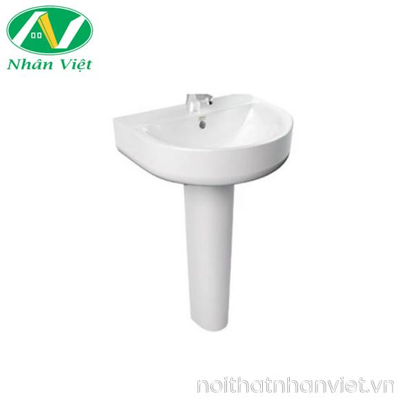 Chậu lavabo/chân chậu American Standard 0553-WT/0742-WT treo tường