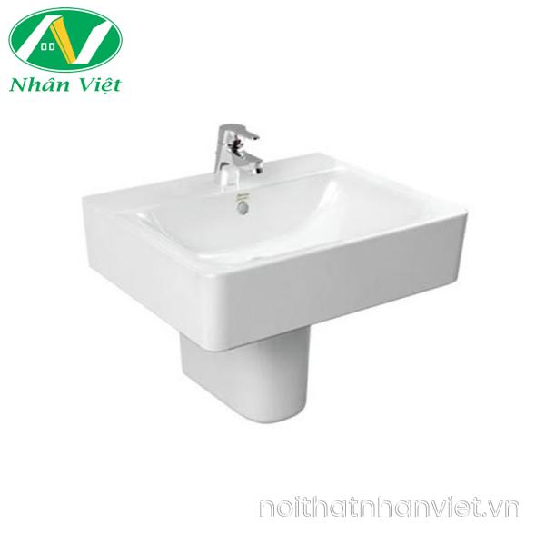 Chậu lavabo/chân chậu American WP-F550/0740-WT treo tường