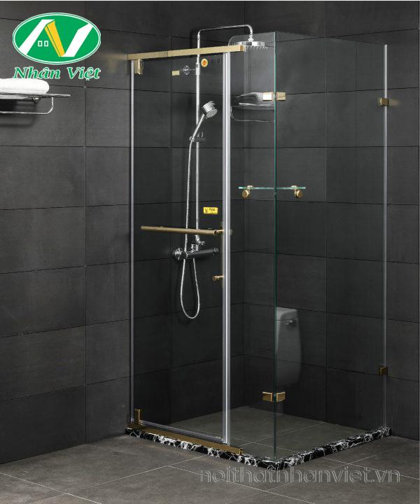 Phòng tắm kính Fendi Bộ Góc FDG-3X3