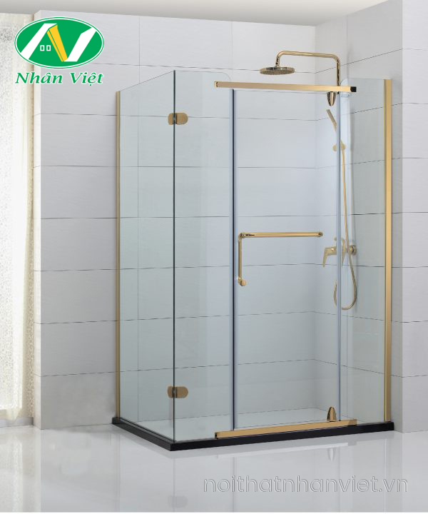 Phòng tắm kính Fendi Bộ Góc FIG-2X4