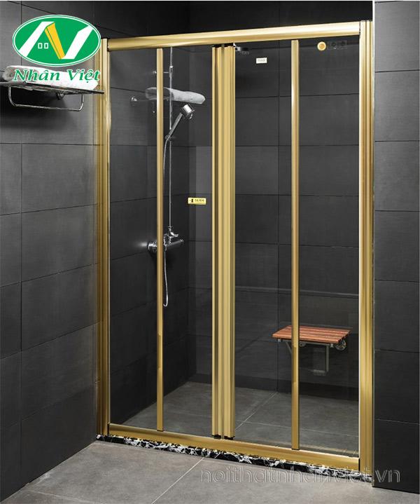 Phòng tắm kính Fendi Bộ Phẳng FKP-3X4
