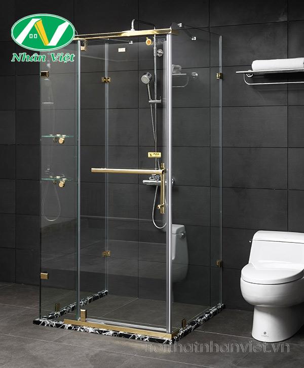Phòng Tắm Kính Fendi Bộ U FDU-1X4