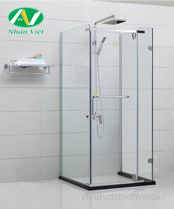 Phòng tắm kính Fendi Bộ U FIU-1X4
